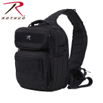 Rothco 25510 Rothco Compact Tactisling Shoulder Bag - Black