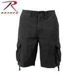 Rothco 2553 2553 Vintage Black Infantry Utility Shorts