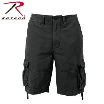 Rothco 2554 2554 Vintage Black Infantry Utility Shorts