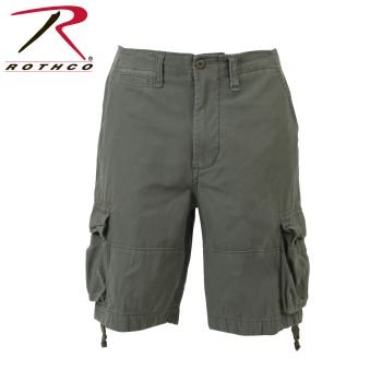 Rothco 2555 2555 Vintage Olive Drab Infantry Utility Shorts