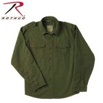 Rothco 2569 2569 Rothco Vintage BDU Shirt - Olive Drab