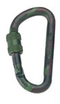 Rothco 262 80mm Locking Camo Carabiner