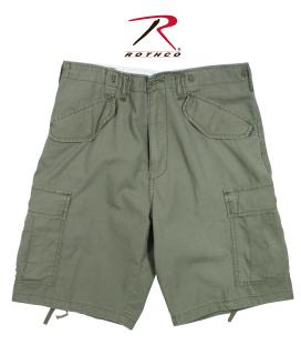 Rothco 2662 2662 Rothco Vintage M-65 Field Shorts R/S - Od