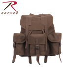Rothco 2697 Rothco Canvas G.I. Style Soft Pack - Earth Brown