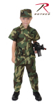 Rothco 2756 Rothco Kids Camouflage Soldier Costume