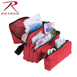 Rothco 2843 Rothco Ems Medical Field Kit Bag - Red