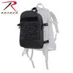 Rothco 28510 Rothco Backup Connectable Back Pack - Black