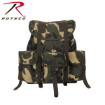 Rothco 2897 Rothco Canvas G.I. Style Soft Pack-Woodland Camo