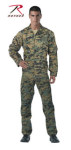 Rothco 2911 2911 Rothco Woodland Digital Camo Air Force Style Flightsuit