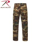 Rothco 2942 2942 Rothco Relaxed Fit Zipper Fly BDU Pant - Woodland Camo