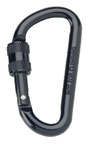 Rothco 294 Black 80mm Locking Carabiner