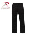 Rothco 2972 2972 Rothco Relaxed Fit Zipper Fly BDU Pant - Black