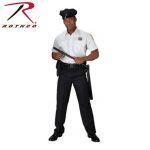 Rothco 30017 30017 Rothco Short Sleeve Uniform Shirt - White