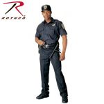 Rothco 30021 30021 Rothco Short Sleeve Uniform Shirt - Navy Blue