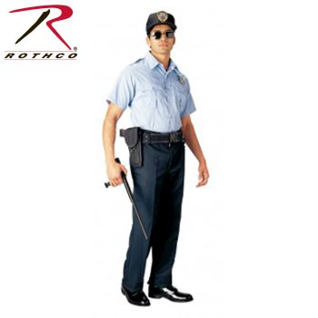 Rothco 30027 30027 Rothco Short Sleeve Uniform Shirt - Light Blue