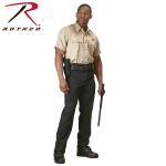 Rothco 30037 30037 Rothco Short Sleeve Uniform Shirt - Khaki