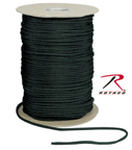Rothco 301 Rothco Nylon Paracord 550lb 600 Ft Spool / Black
