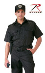 Rothco 30206 30206 Black Short Sleeve Tactical Shirt