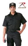Rothco 30206 30206 Black Short Sleeve Tactical Shirt