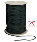 Rothco 304 Rothco Nylon Paracord 550lb 1000 Ft Spool / Black