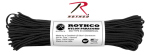 Rothco 308 Rothco Nylon Paracord 550lb 100 Ft / Black