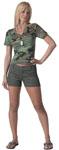 Rothco 3176 Rothco Womens Shorts - Olive Drab