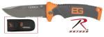 Rothco 3221 Gerber Folding Sheath Knife / Bear Grylls