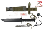 Rothco 3233 Rothco Deluxe Jungle Survival Kit Knife