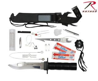 Rothco | 3235 | Deluxe ''adventurer'' Survival Kit Knife
