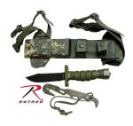 Rothco 3274 Asek Survival Knife System-ACU Digital