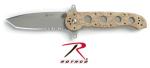 Rothco 3329 Knife Crkt M16-14zsfi Desert Camo Abs Plastic