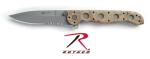 Rothco 3330 Knife Crkt M16-13zmi Desert Camo Abs Plastic