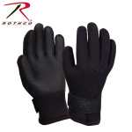 Rothco 33550 Rothco Neoprene Cold And Waterproof Gloves-Blk