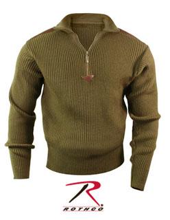 Rothco 3370 3370 Rothco Acrylic Commando Sweater 1/4 Zip