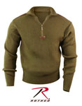 Rothco 3370 3370 Rothco Acrylic Commando Sweater 1/4 Zip