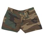 Rothco 3376 Rothco Womens Shorts - Woodland Camo