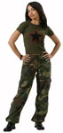 Rothco 3386 Women's Woodland Vintage Paratrooper Fatigues