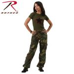 Rothco 3387 3387 Women's Woodland Vintage Paratrooper Fatigues