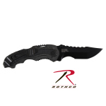 Rothco 3398 S&W M/P Assisted Open Knife-Black/Gray (Swmp6s)