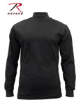 Rothco 3406 Rothco Mock Turtleneck - Black