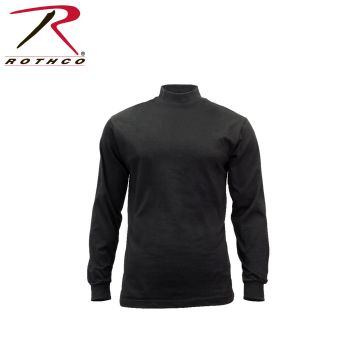 Rothco 3407 3407 Rothco Mock Turtleneck - Black