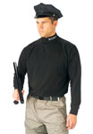 Rothco 3413 Rothco Mock Turtleneck / Security - Black