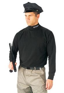 Rothco 3415 3415 Rothco Mock Turtleneck / Security - Black