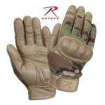 Rothco 3424 Rothco Hard Knuckle Tactical Gloves-Multicam