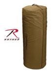 Rothco 3439 Rothco Canvas Zipper Duffle Bag / 25 X 42 - Coyote