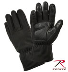 Rothco 3470 Micro Fleece All Weather Gloves-Black