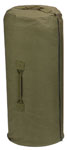 Rothco 3478 3478 Rothco Canvas Zipper Duffle Bag / 21 X 36 - Olive Drab