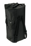 Rothco 3484 Rothco GI Type Double Strap Duffle Bag - Black