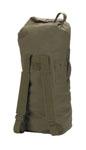 "Rothco 3486 Rothco GIStyle Canvas Double Strap Duffle Bag / 22"" X 38"" - Olive Drab"