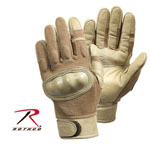 Rothco 3492 Cut Resistant /Flame & Heat Resistant Hard Knuckle Tactical Gloves - Coyote